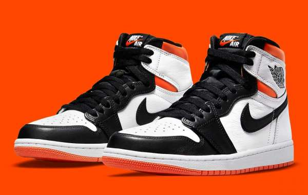 """555088-180 The Air Jordan 1 Retro High OG """"Electro Orange"""" will be released on July 17th"""