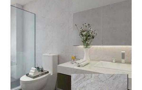 What about a background wall made of glass mosaic tile?
